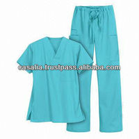 Medical Uniform Scrub Top And Pant