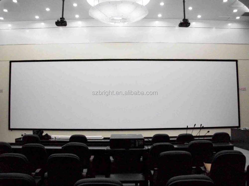 200 motorized electric projector screen 250 inch giant electric projection screen