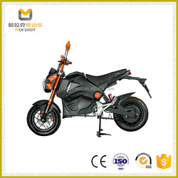 2016 Max Latest Unique Safety Design Adult Electric Motorcycle 2000W without Pedals