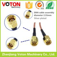 cheap price electronic product sma rf assembly jumper pigtail cable connector