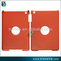 Simple protector Litchi stria PC crystal case for Ipad mini