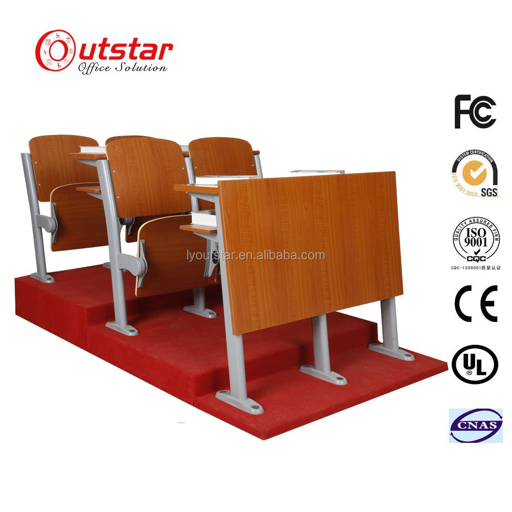 Cheap row chairs lecture hall chair universtity classroom row chair school furniture