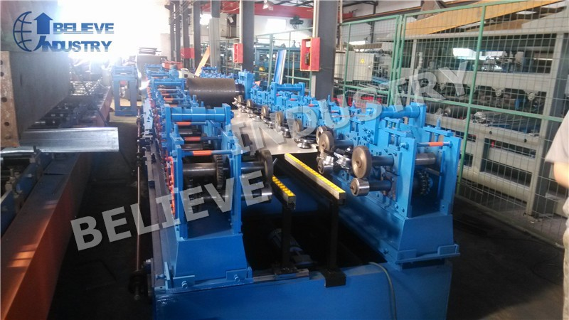 Galvanized Metal Door Panel Roll Forming Machine