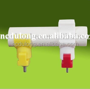 poultry feeders and drinkers automatic poultry nipple drinker poultry drinkers CE approved