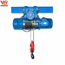 Manufacturing 5ton Hoist Jib Crane Single Speed CD1 Electric Winch Wire Rope Hoist