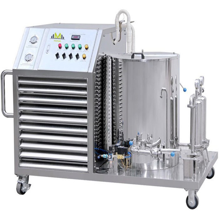Stainless Steel Freezing Filter Perfume Mixing Equipment