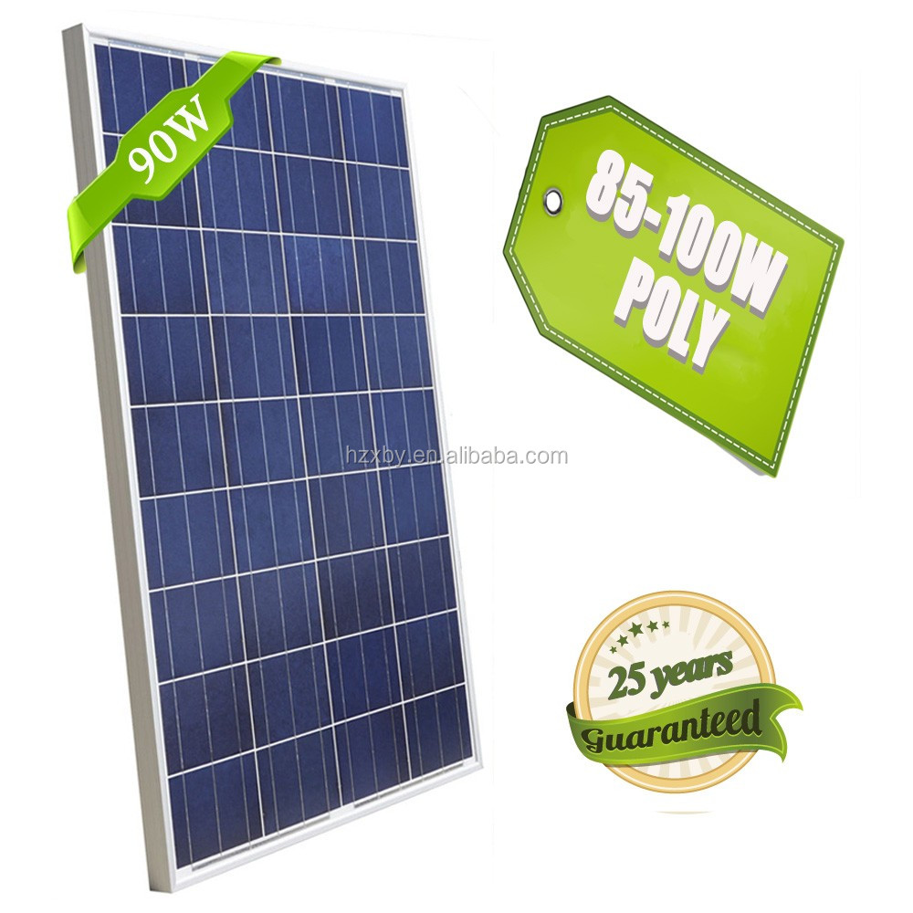 high quality 90w poly roof solar panel pakistan lahore