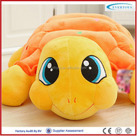 stuffed plush soft big eyes toy turtle