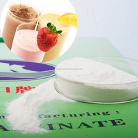 Drinks Stabilizer Additive Food Grade Sodium Alginate Powder