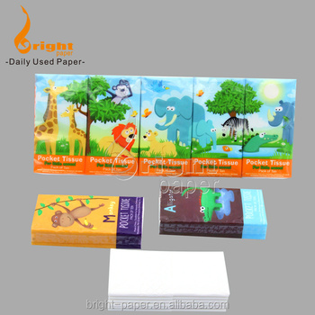 Wholesale Virgin Wood Pulp A/B/C Grade Custom Pocket Facial Tissue