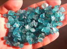 wholesale Blue Apatite Loose Crystal Stones Natural Healing Reiki Rough Mineral Stones for decoration