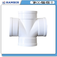 HAMBER--60771 pvc cross joint pipe fitting