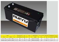 12V 120ah dry charged battery