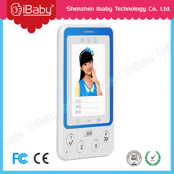 Ibaby C88 Ultrathin Security kids ID card phone gps tracker with RFID