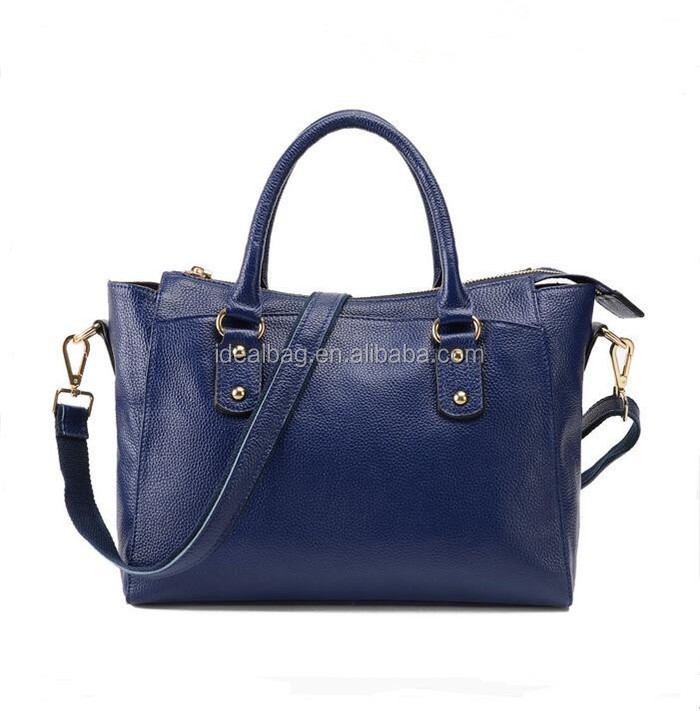 Wholesale classic euro america brand high Quality woman shoulder tote bag ladies genuine leather top handle handbag cheap price
