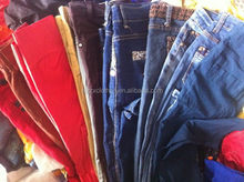 Vintage clothing factories men pants women leggings colourful fashion style 100lbs bale of second hand clothing