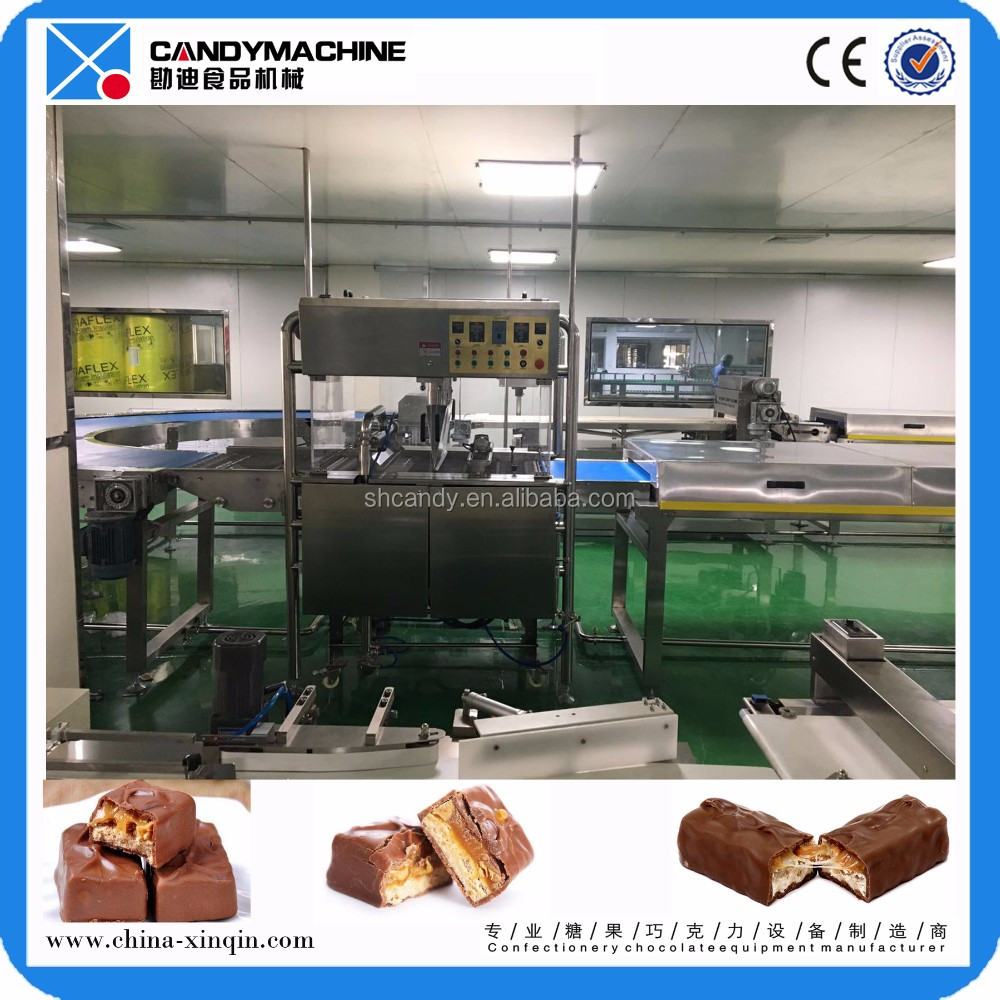 Multiple Protein Bar Production Line With Chocolate Enrobing Machine Line