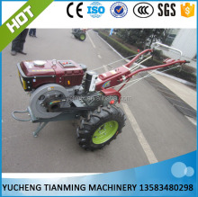 2 wheel walking tractor with electric starting for sales