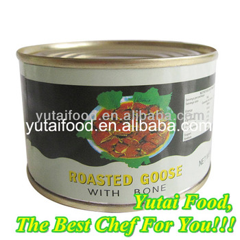 Canned Halal Roasted Goose Premium Canned Food