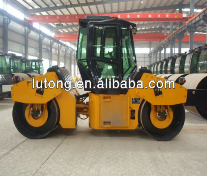 10 tons Full Hydraulic Double Drive Double Drum Vibratory Road Roller LTC210