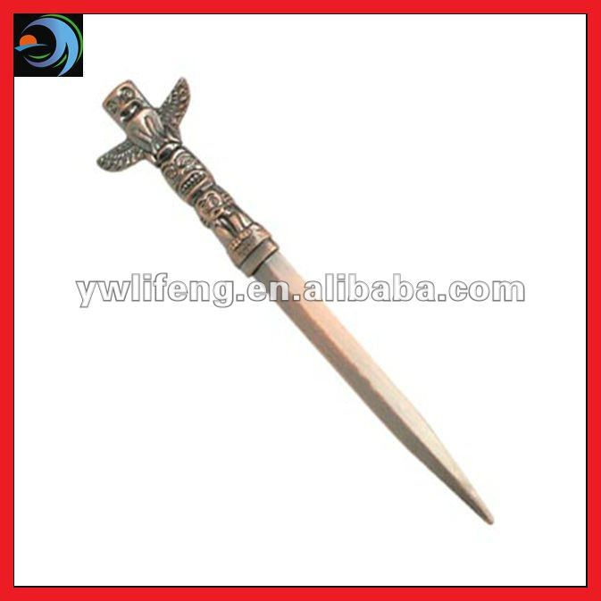 Cross Design Metal Letter Opener