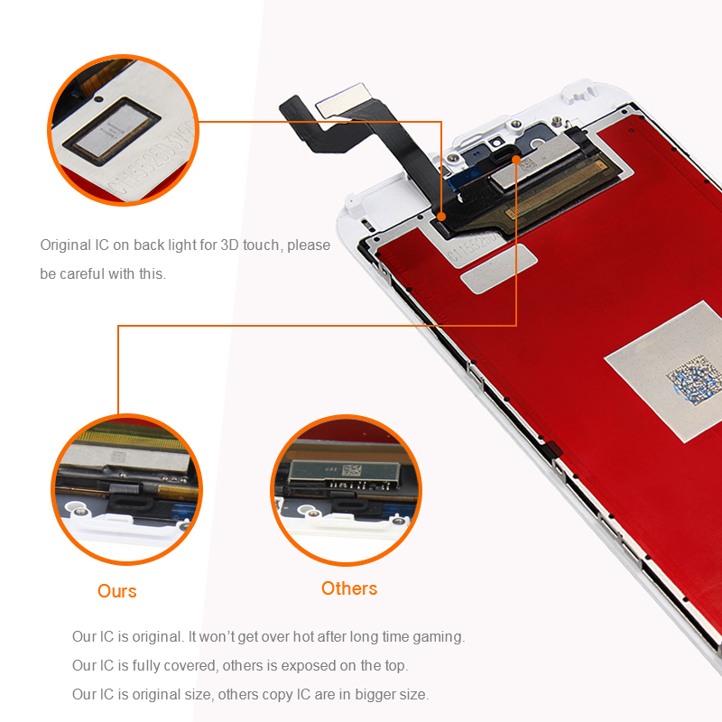 Top quality !!! for iPhone 6s lcd display , replacement for iPhone 6s screen , for iPhone 6s oem screen