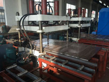 Rubber Gym Flooring Tile Making Machine / Rubber Tile Vulcanizing Equipment For Playground