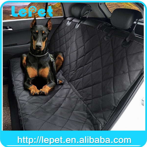 Pet supply Soft Quilted chewproof washable pet car seat cover/dog hammock/dog car seat cover
