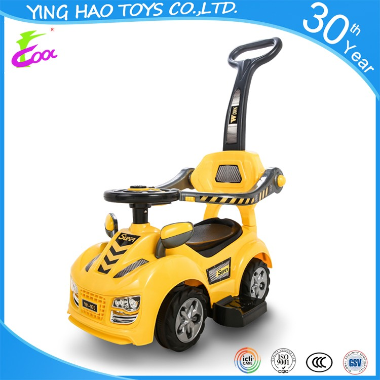 2016 most popular baby pedal ride on pedal car with ICTI certification
