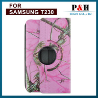 "360 Degree rotating Leather Case for samsung Galaxy Tab 4 T230 T330 T530 7.0"" hot sale on the Russia market"
