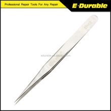 ST-12 Stainless Steel Pointed Anti-static False Eyelash Tweezers Watchmaker Repair Tools