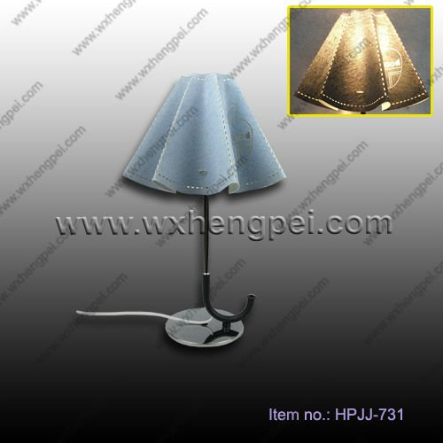 beautiful umbrella table lamp