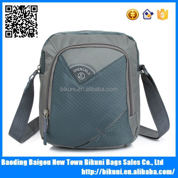 2015 fashion nylon casual sport teen classy shoulder bags unique small messenger bags