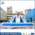 Guangzhou huale inflatable slide pool/blue bear slide pool for water park