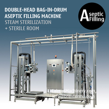 Double-Head 200L BIB Aseptic Filling Machine Bag in Drum Aseptic Filler