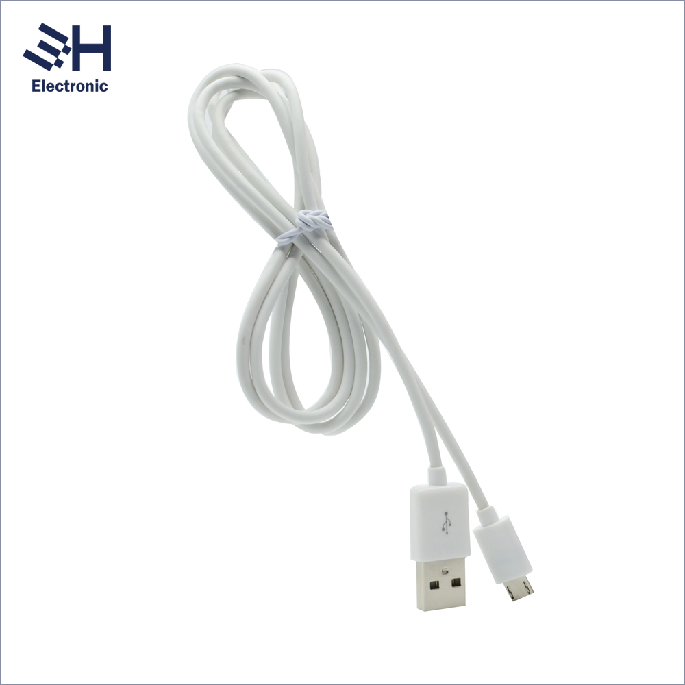 1M Round Design shenzhen data line Micro usb cable for Android
