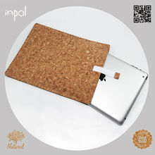 wholesale new product slim cork mobile phone case for ipad 4