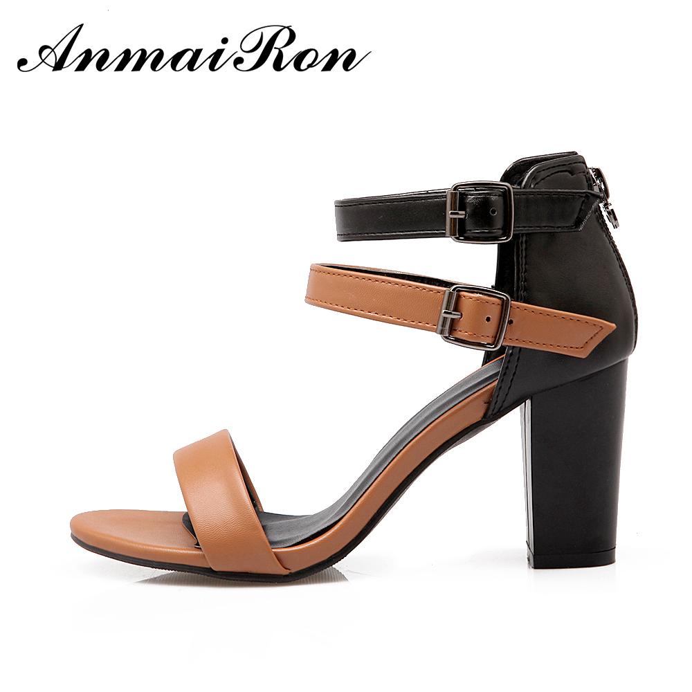 hot sale ladies women kitten chunky heel sandals