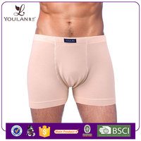 Fashionable Good Quality Modal Cotton Front Open Private Brand Front Open Mens Underwear Boxer