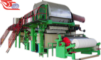 1575/100 double cylinder and networks paper making machine