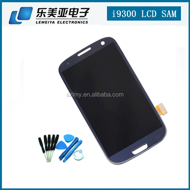 100%Pass tested LCD Display Touch Screen Digitizer Assembly for samsung galaxy S3-i9300 For Samsung GALAXY S4 LCD i9500 I9505