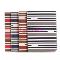Stripes Style Leather Flip Stand Wallet Case Cover For Apple iPad Air 2 iPad 6