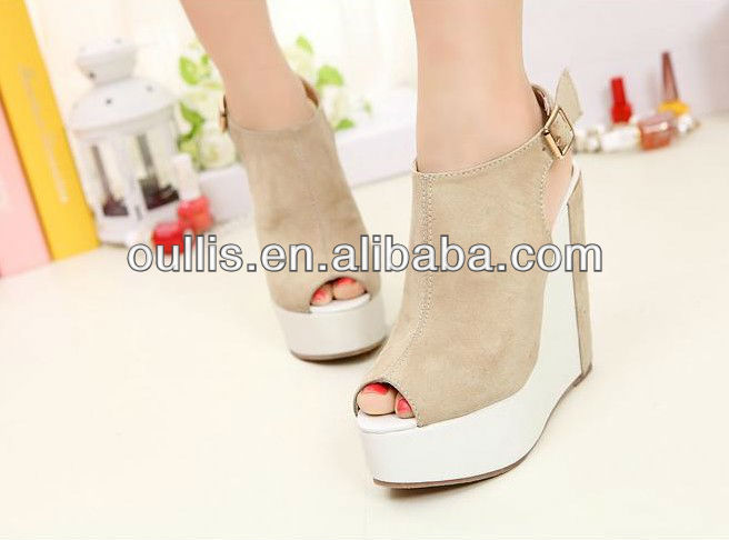 2013 women fashion confortable sandals with peeptoe design PF2351