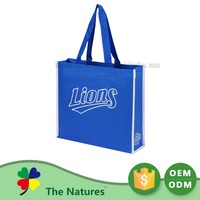 On Promotion Custom Printed Logo Pp Woven Easy Shopping Oem Clear Bag