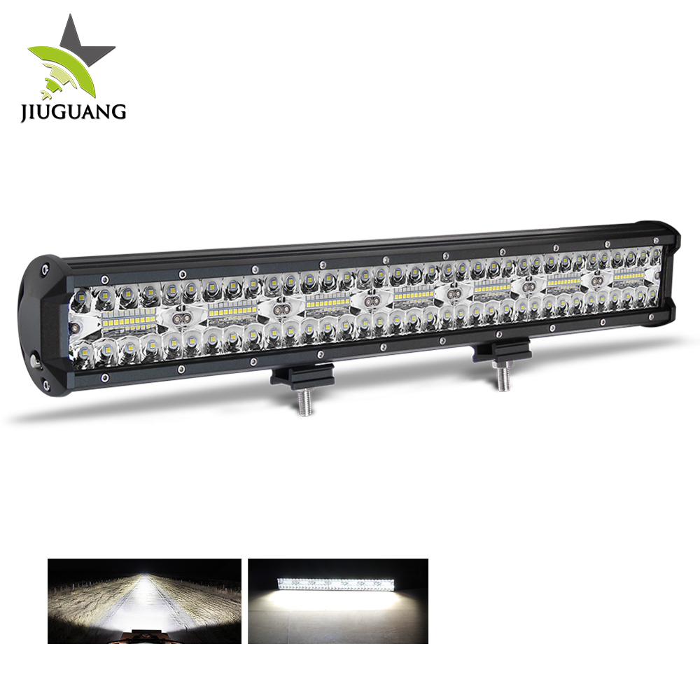 Adjustable Triple Row 20 Inch 160W Led Light Bar For Snowmobile