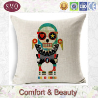 Europe Style Beetle Car/VW Bus/Retro Motorcycle Cotton Cushions Cover, Seat Pillow, 45cm*45cm, For Home Decorate