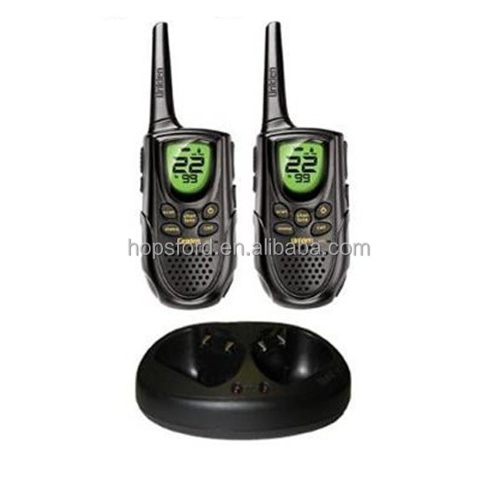 Uniden Two way Radio Walkie Talkie GMR-2200-2CK - Channel Scan, 15 GMRS / 7FRS Channels, Battery charger
