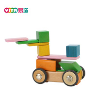 DIY Wood Educational Toys 2017 Colorful
