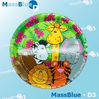 High-quantity Printed Disposable Paper Plate Paper Dish Whole Sale