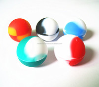 FDA approved food grade non stick small mini round popular slick oil ball non-stick concentrate silicone container wax